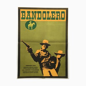 Bandolero Movie Poster by Alexej Jaroš, 1969