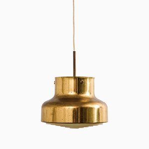Brass Bumling Pendant Lamp by Anders Pehrson for Ateljé Lyktan, 1960s