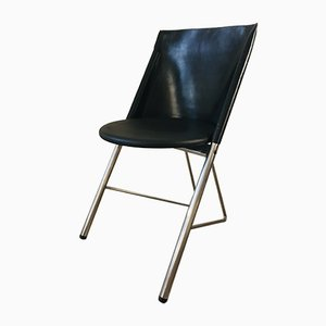 Vintage Leather Lounge Chair by Gabriel Teixido for Gasisa, 1980s