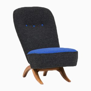 Mid-Century Model 107 Congo Lounge Chair by Theo Ruth for Artifort