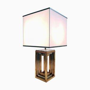 Large Italian Table Lamp by Romeo Rega, 1970s