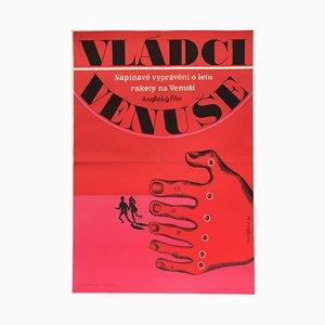Masters of Venus Movie Poster by Eva Galová-Vodrážková, 1968