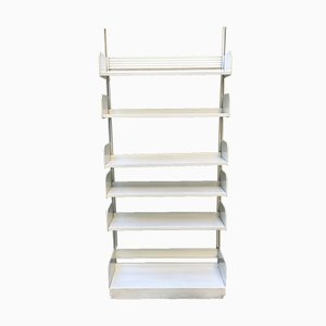 Mid-Century White Metal Shelf from Lips Vago