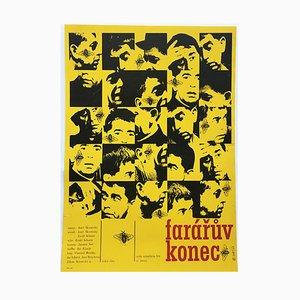 Póster de la película The End of a Priest de Miloslav Noll, 1968