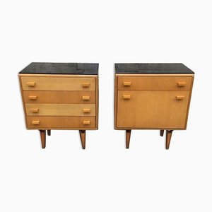 Mid-Century Nightstands from Novy domov, 1970s, Set of 2