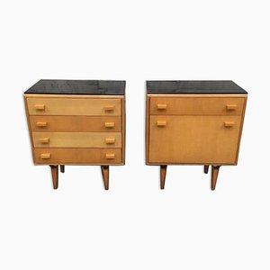 Tables de Chevet Vintage de Novy domov, 1970s, Set de 2