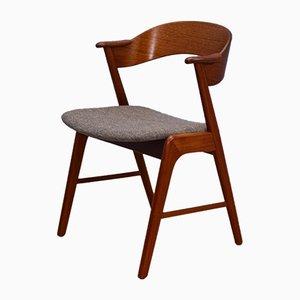 Chaise de Salle à Manger Modèle 32 en Teck par Kai Kristiansen pour Korup Stolefabrik, Danemark, 1960s