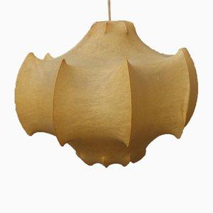 Italian Cocoon Pendant Lamp by Achille & Pier Giacomo Castiglioni, 1960s