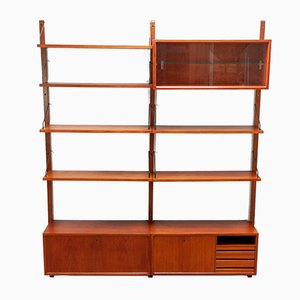 Mid-Century Teak Modular Wall Units by Poul Cadovius, 1956