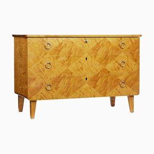 Scandinavian Birch Dresser, 1940s