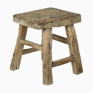19th Century Chinese Hardwood Stool