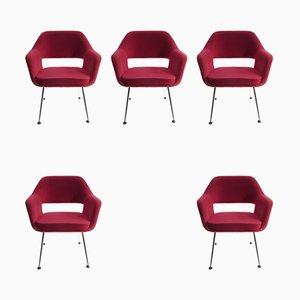 Chaises de Salle à Manger Vintage, Set de 5