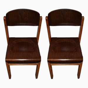 German Side Chairs from Wehrfritz, 1950s, Set of 2
