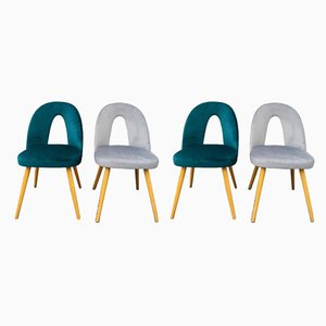 Mid-Century Dining Chairs by Antonín Šuman for Tatra, Set of 4
