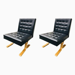 Mid-Century Bratislava Lounge Chairs from Drevopodnik Holesov, Set of 2