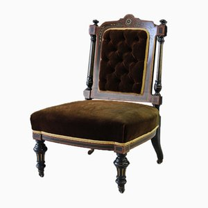 Antiker viktorianischer Armlehnstuhl