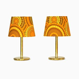 Brass Table Lamps from Ivars, 1960s, Set of 2