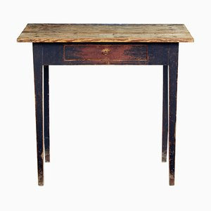 19th Century Swedish Pinewood Side Table