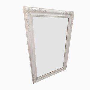 Antique Napoleon III Wood-Framed Mirror