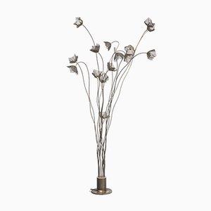 Brass Floor Lamp from Harco Loor Design, 1980s