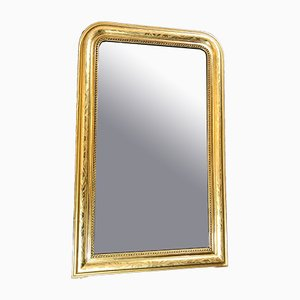 Espejo antiguo con pan de oro
