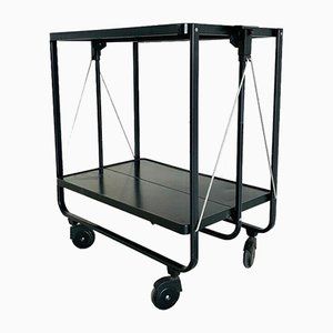 Mid-Century Black Trolley, 1960s
