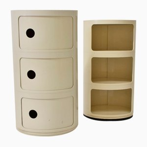 Dressers by Anna Castelli for Kartell, 1968, Set of 2
