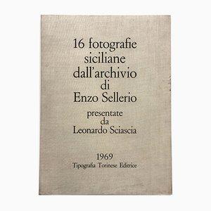 Conjunto de fotografías y carpeta de Enzo Sellerio para Tipografia Torinese Editrice, años 60