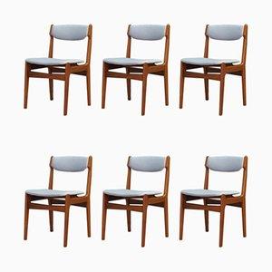Chaises de Salle à Manger par Erik Buch, années 60, Set de 6