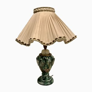 Lampada da tavolo in vetro di Murano di Archimede Seguso, anni '50