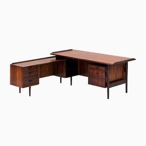 Dänischer Schreibtisch aus Palisander von Arne Vodder für Sibast, 1960er