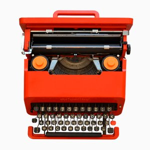 Typewriter by Ettore Sottsass for Olivetti Synthesis, 1969
