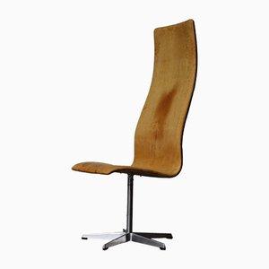 Chaise Oxford par Arne Jacobsen pour Fritz Hansen, années 60