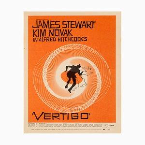 Póster de la película Vertigo de Saul Bass, 1958