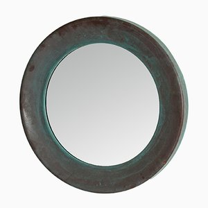 Large Round Mirror from Glasmäster, 1960s