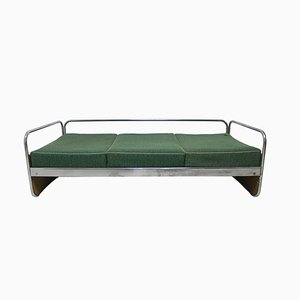 Chromed Sofa Bed from Kovona, 1950s