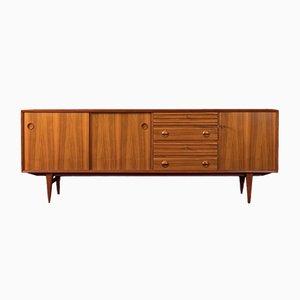 Walnut Veneer Sideboard, 1960s