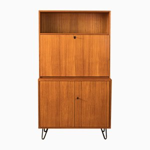 Teak Veneer Bar Cabinet from DeWe, 1950s