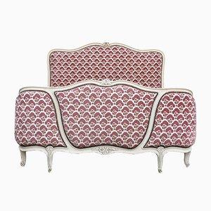 Antikes französisches Doppelbett, 1920er