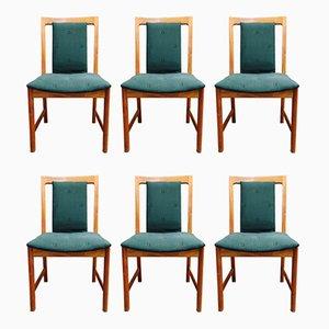 Chaises de Salle à Manger par Karl-Erik Ekselius, années 50, Set de 6