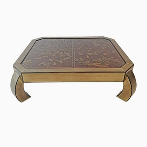 Large American Coffee Table by Bernard Rohne for Mastercraft, 1970s