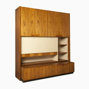 Rosewood Veneer Wall Unit from V-Form, 1960s