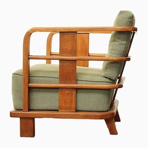 French Lounge Chair, 1930s