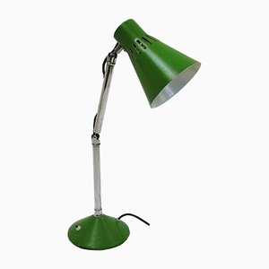 Mid-Century Green Table Lamp from Pifco, 1950s