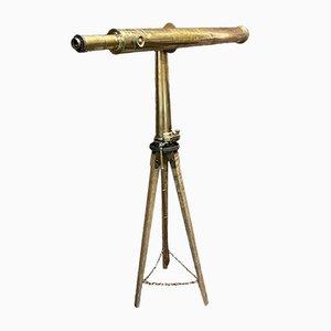 Antikes englisches Teleskop von A. Ross