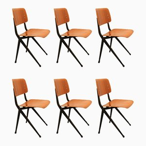 Plywood Dining Chairs from Marko, 1960s, Set of 6