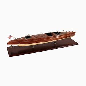 Barco vintage de madera