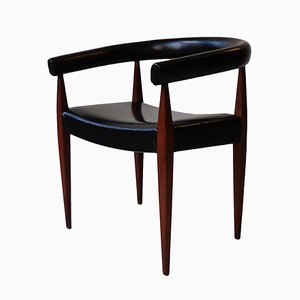 Mid-Century Danish Armchair by Nanna Ditzel for Kolds Savvaerk, 1950s