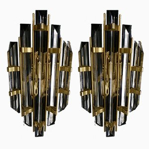 Sconces from Venini, 1980s, Set of 2