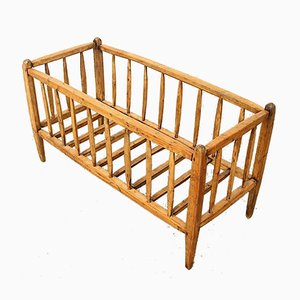 Antique French Baby or Children's Cradle